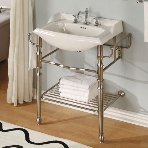 Empire Industries Empire For Oxford Open Shelf Console Vanity Modern Bathroom  Vanities And Sink Consoles