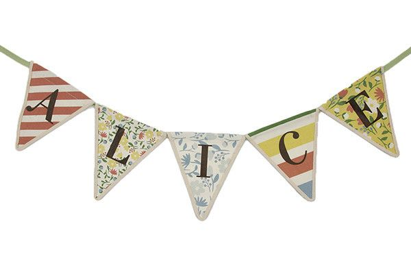 Baby name bunting, very cute! x
