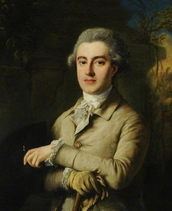 The Honourable David Murray (1748–1794), MP for Peebleshire by Nathaniel Hone