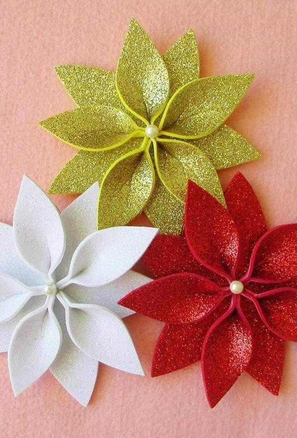 Flores En Fomi Decoration