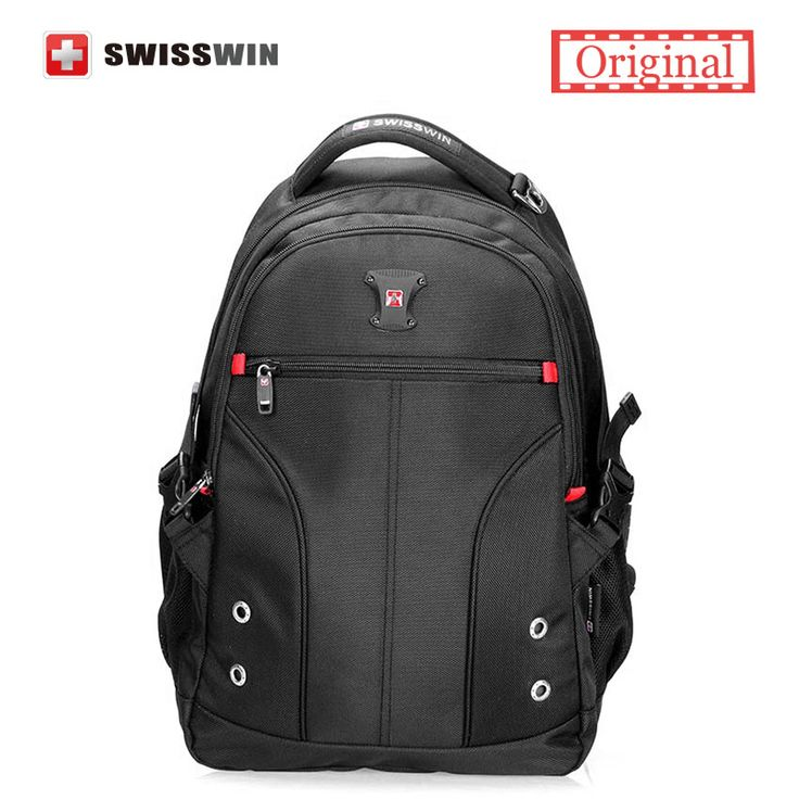 "Swisswin backpack Men Swissgear 15"" Laptop backpacks School Backpacks for Teenage Boys mochilas hombres Bagpack School Bookbag #Affiliate"
