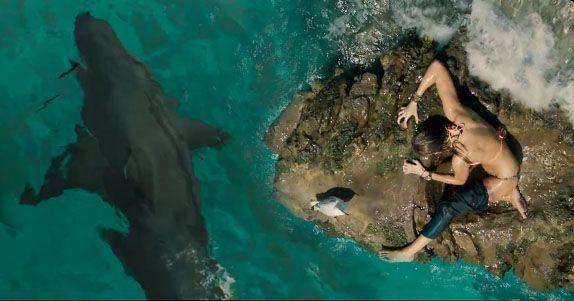 THE SHALLOWS. Uno squalo una bella ragazza e uno scoglio... tutto quello che serve per un survival-movie ad alta tensione!
