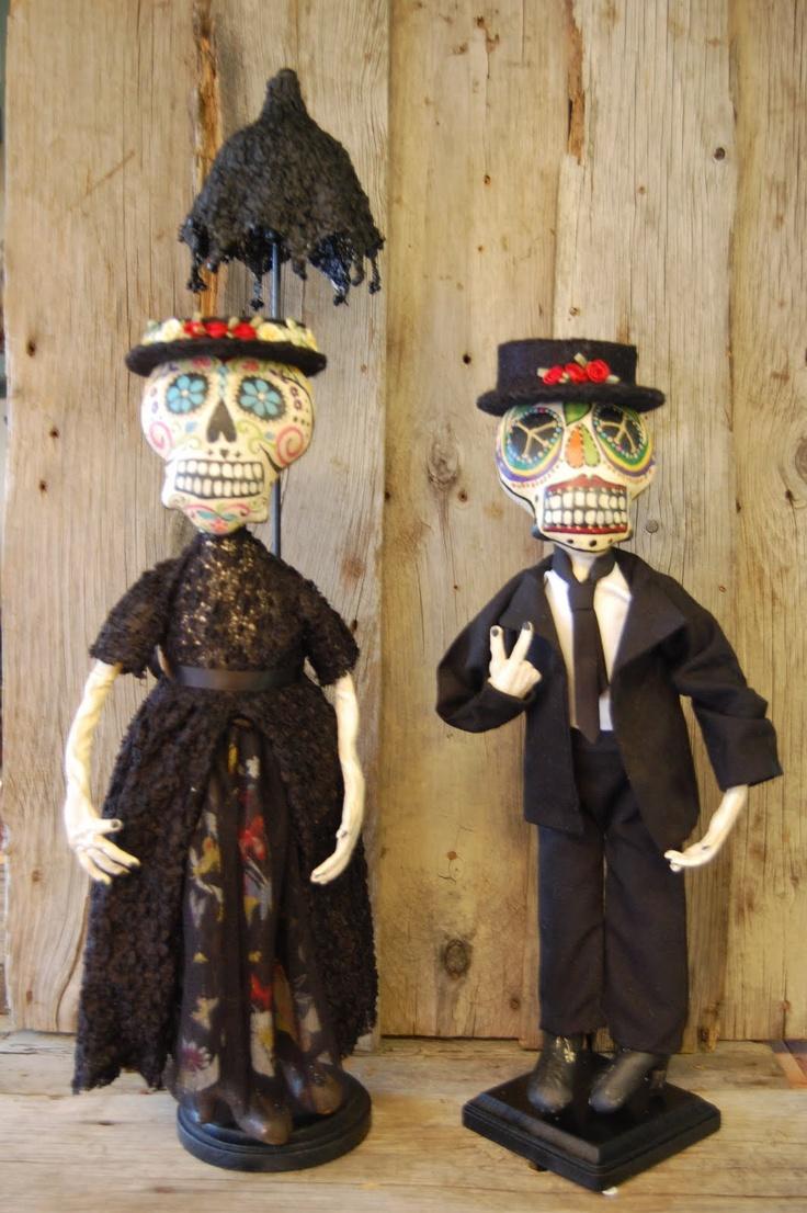 Dia de Los Muertos dolls