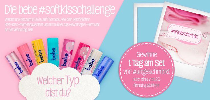 Soft-Kiss-Challenge - gewinne 1 Tag am Set von #ungeschminkt!