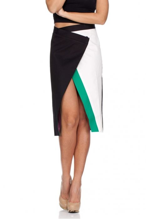 falda asimetrica