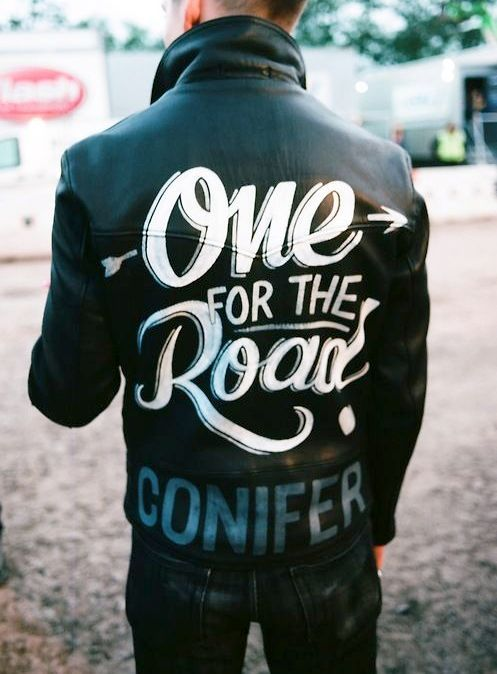 One For The Road Alex Turner Black Leather Jacket