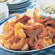 The Original OLD BAY Shrimp Boil Shrimp Fest --- What could be more fun? Newspapers covering the table. Fingertips full of flavor. No food brings people together quite like a shrimp boil. Just roll up your sleeves and enjoy piles of steaming, delicious shrimp.
