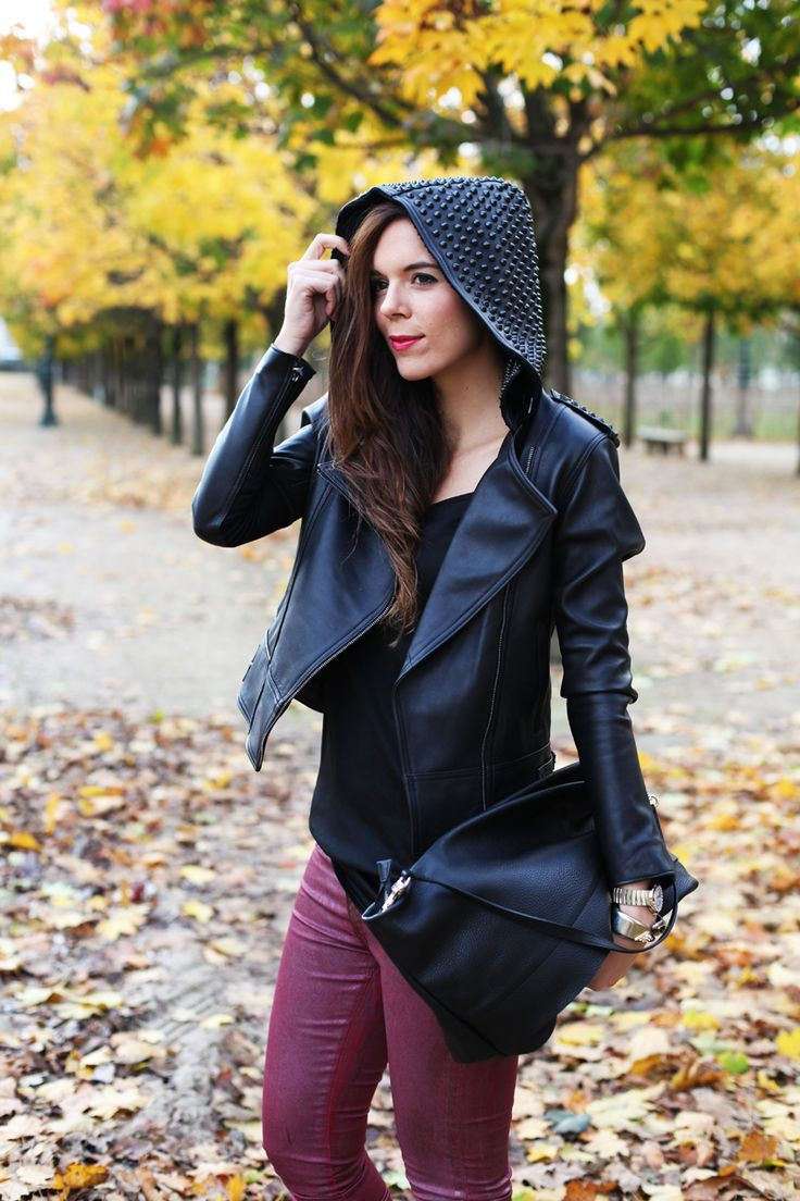 My black leather jacket!