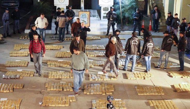 Secuestraron cinco toneladas de marihuana: Los operativos tuvieron lugar en las provincias de Misiones y Formosa. Hubo ocho detenidos en…