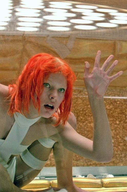 Fifth element leeloo dallas fucks herself in the ass 3