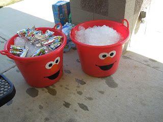 OCC: Obsessive Compulsive Crafting: Jack's 2nd Birthday- Elmo's World/ Sesame Street
