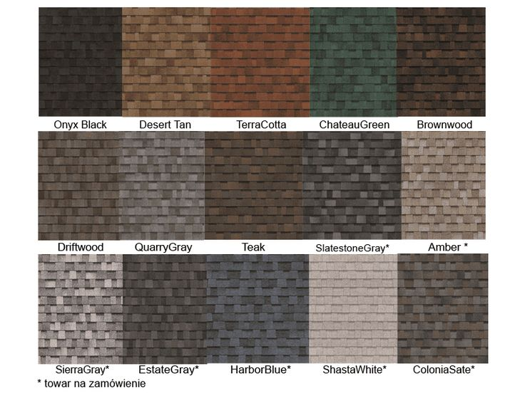 Best Owens Corning Architectural Shingle Colors Owens Corning 400 x 300