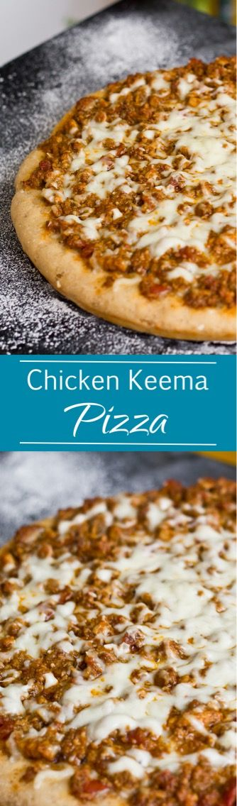 Chicken Keema Pizza | Wheat Crust Pizza Without Oven | Loaded Chicken Pizza  ~ The Terrace Kitchen Loaded With Chicken Keema, This Pizza Is A Treat For  All ...