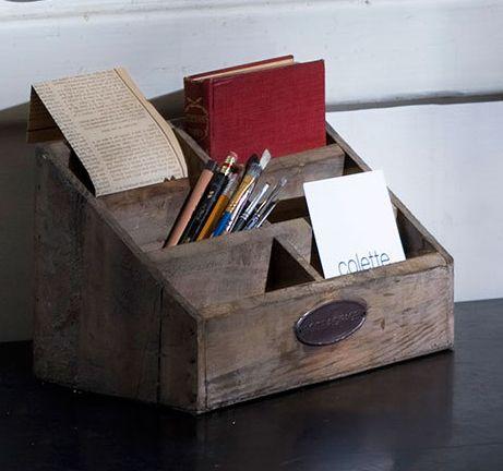 25 Best Ideas About Wooden Desk Organizer On Pinterest