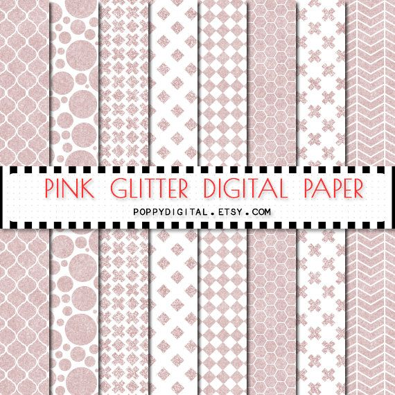Pink digital paper patterns - gold backgrounds with textures gold polka dot, gold cross, gold lines, gold diamonds, gold rhombs