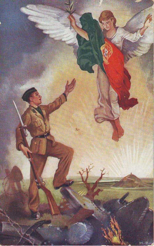 "Portuguese volunteer ""Viriatos"" in Franco's army (Spanish Civil War 1936-1938)"