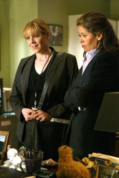 Mary McCormack & Anna Deavere Smith (The West Wing)
