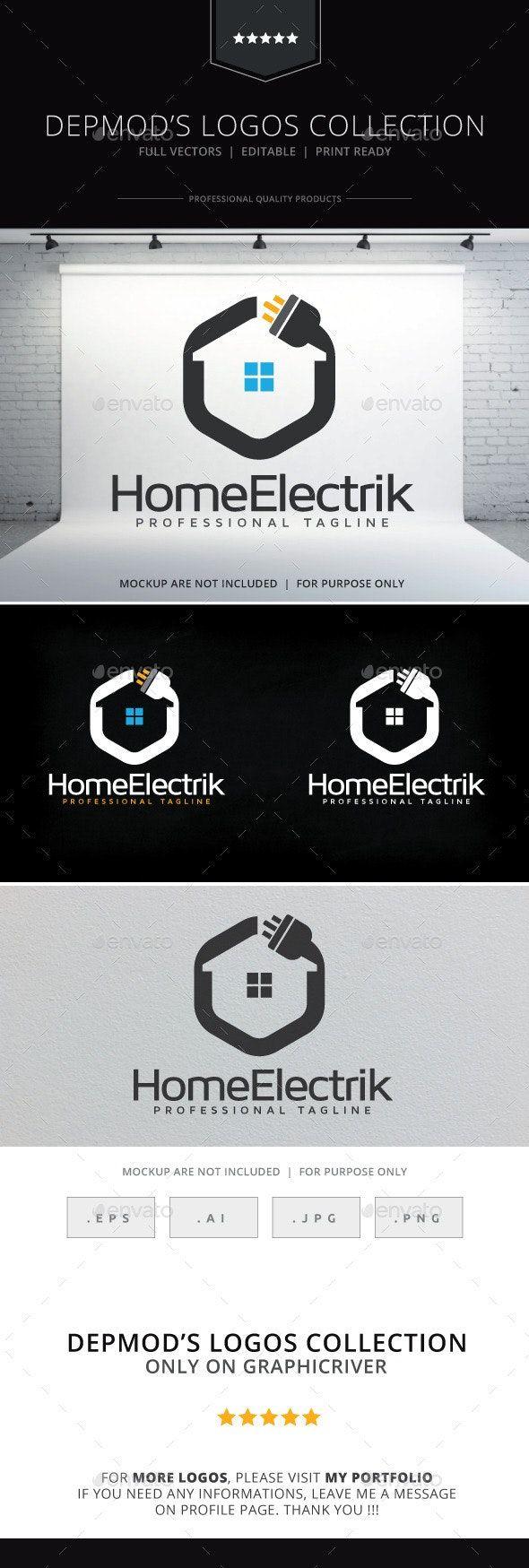 Home Electrik Logo AD Home, AD, Electrik, Logo