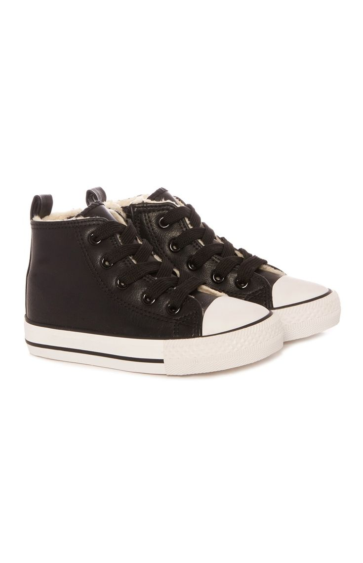 Primark - Black Hi Top Sneakers