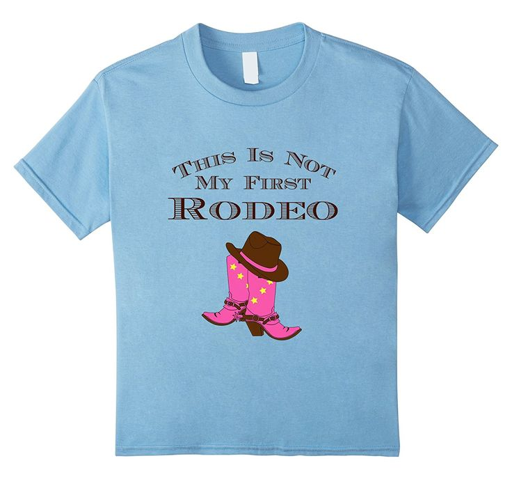 Amazon.com: This Is Not My First Rodeo Cowgirl T-Shirt: Clothing
