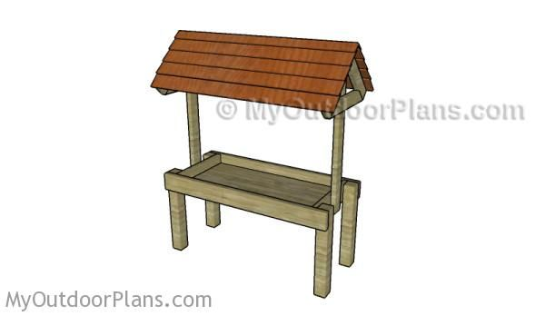 Homemade Deer Feeder Plans | Free Outdoor Plans - DIY Shed, Wooden Playhouse, Bbq, Woodworking Projects