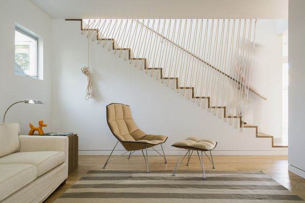 stairs with rope railing look 1 thumb 630xauto 54111 Stairs with Rope Railing Look