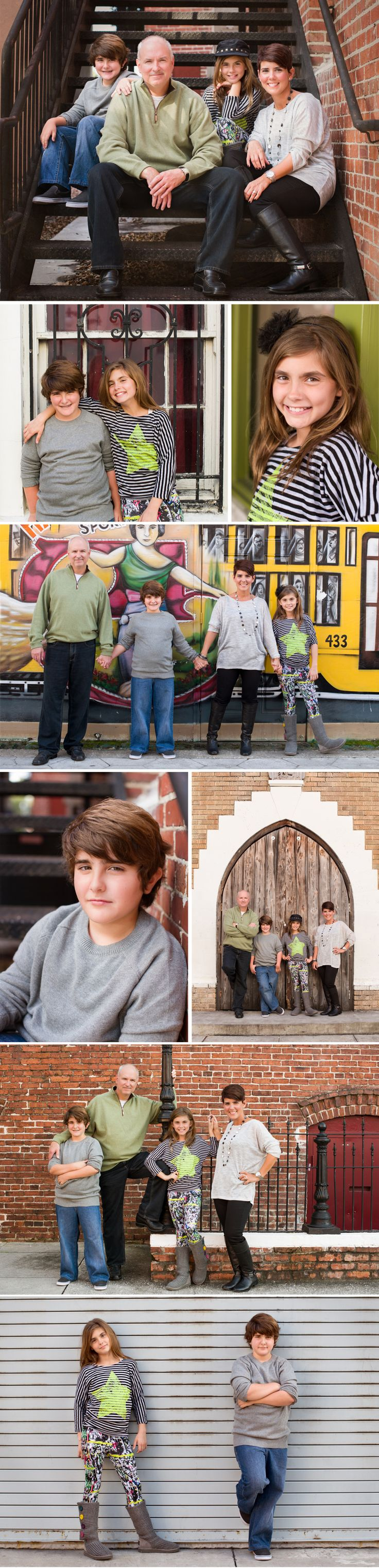 Urban Family Photo Session by Tampa Family Photographer Sherri Kelly