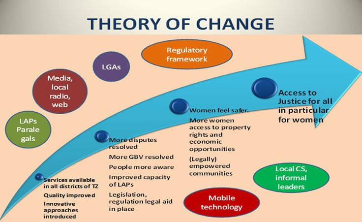 Lsf Home Page  Theory Of Change    Program Evaluation