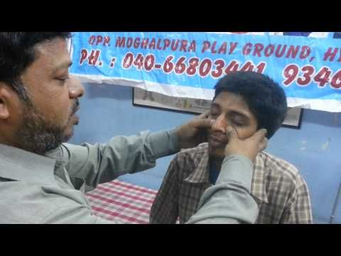 SINUS TREATMENT IN ACUPRESSURE THERAPHY - YouTube