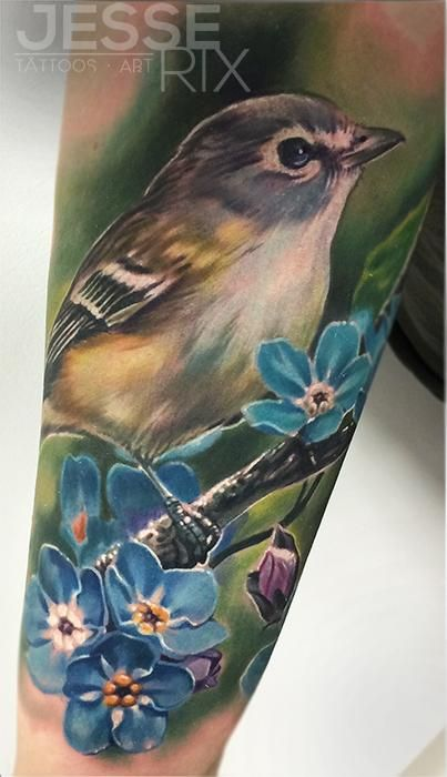 Jesse Rix Tattoos | Jesse Rix - Bird Tattoo