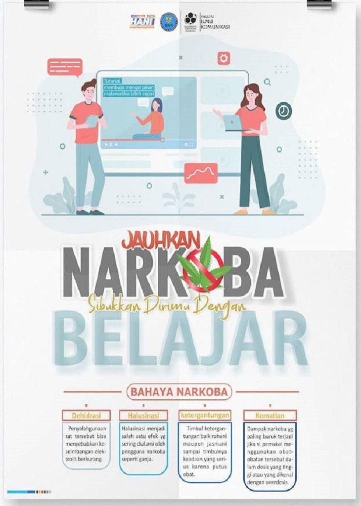 Jauhkan Narkoba Sibukkan Dirimu Dengan Belajar Belajar Desain Poster Poster