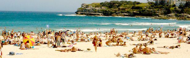 Curso de verão na Austrália