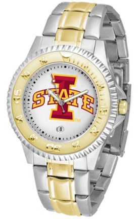 Iowa State Cyclones Competitor Two Tone Men's Watch