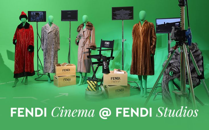 """Palazzo della Civilità Italiana, Fendi's headquarters in Rome, has been transformed into a film studio where visitors can enjoy a digital experience that allows them to """"participate"""" in film scenes and discover the House's iconic creations. It is a fascinating journey, where the visitors become members in the cast of some of the most celebrated films for which Fendi designed the costumes.   http://www.infurmag.com/fendi-cinema-fendi-studios/"""