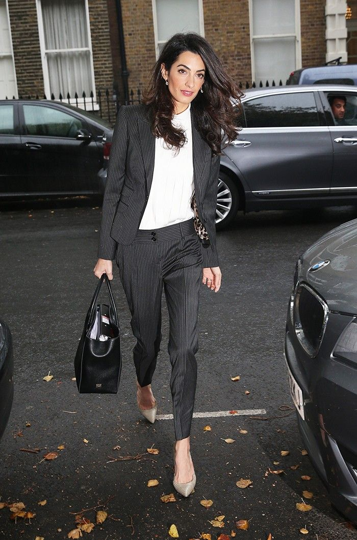 How to Dress Like Amal Clooney in 7 Easy Steps via @WhoWhatWear