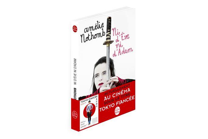 """L'édition poche du livre d'Amélie Nothomb """"Ni d'Eve ni d'Adam"""" arbore les couleurs de Tokyo Fiancée! #amelienothomb #tokyofiancee"""