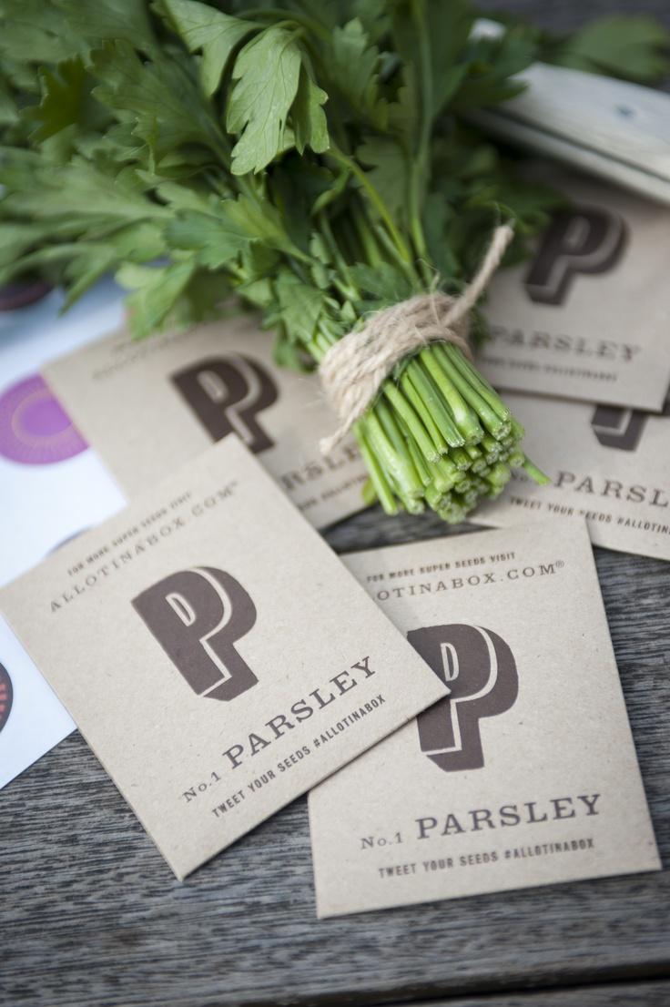 ALLOTINABOX® No 1. Parsley Seeds