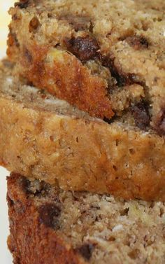 Recipe for Recipe for Banana Chocolate Chip Oatmeal Bread - I love anything with bananas and chocolate in it!
