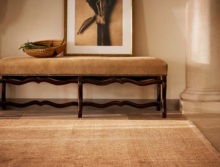 To Achieve Its Timeworn Character The Hand Knotted RLHome Tonal Rug Is Washed Ralph LaurenMulholland