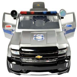 Avigo Chevy Silverado Police Truck 6 Volt Powered Ride On