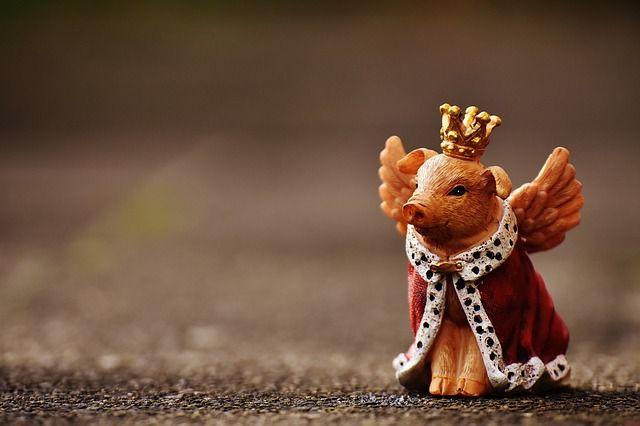 Kostenloses Bild auf Pixabay - Glücksschwein, Schutzengel, Figur