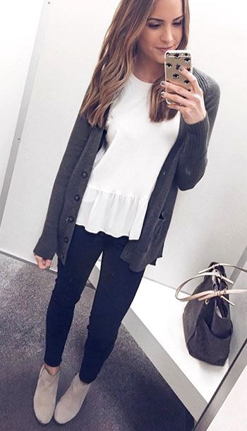 Business Casual Outfits Denim Ideas