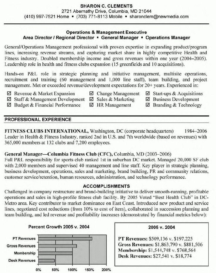 management resume program manager sample best senior