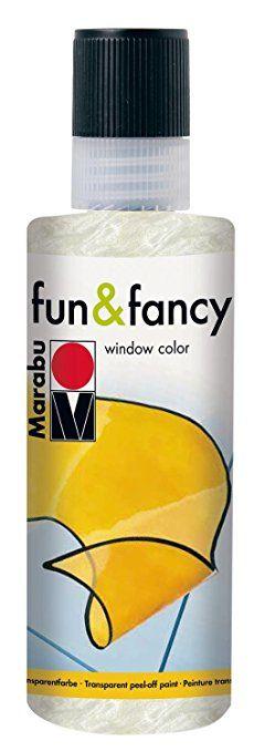 Fenstermalfarbe fun & fancy, Marabu, 80 ml Perlmutt