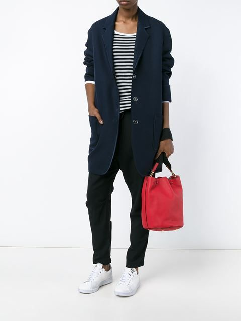 Marni мини сумка-мешок с контрастной лямкой