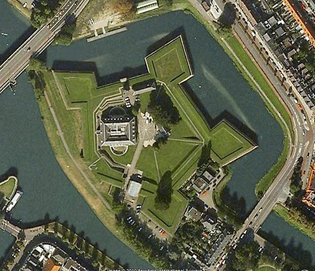Star Fort in 's-Hertogenbosch by Geospatially, via Flickr