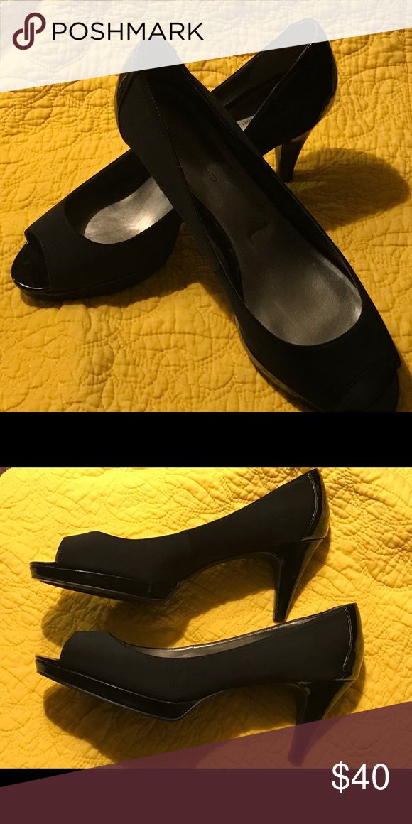 I just added this listing on Poshmark: Grosgrain Satin, patent leather  trimmed.
