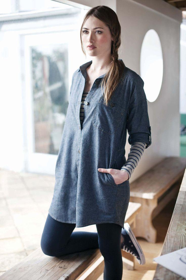 Totnes Shirt Dress | Seasalt