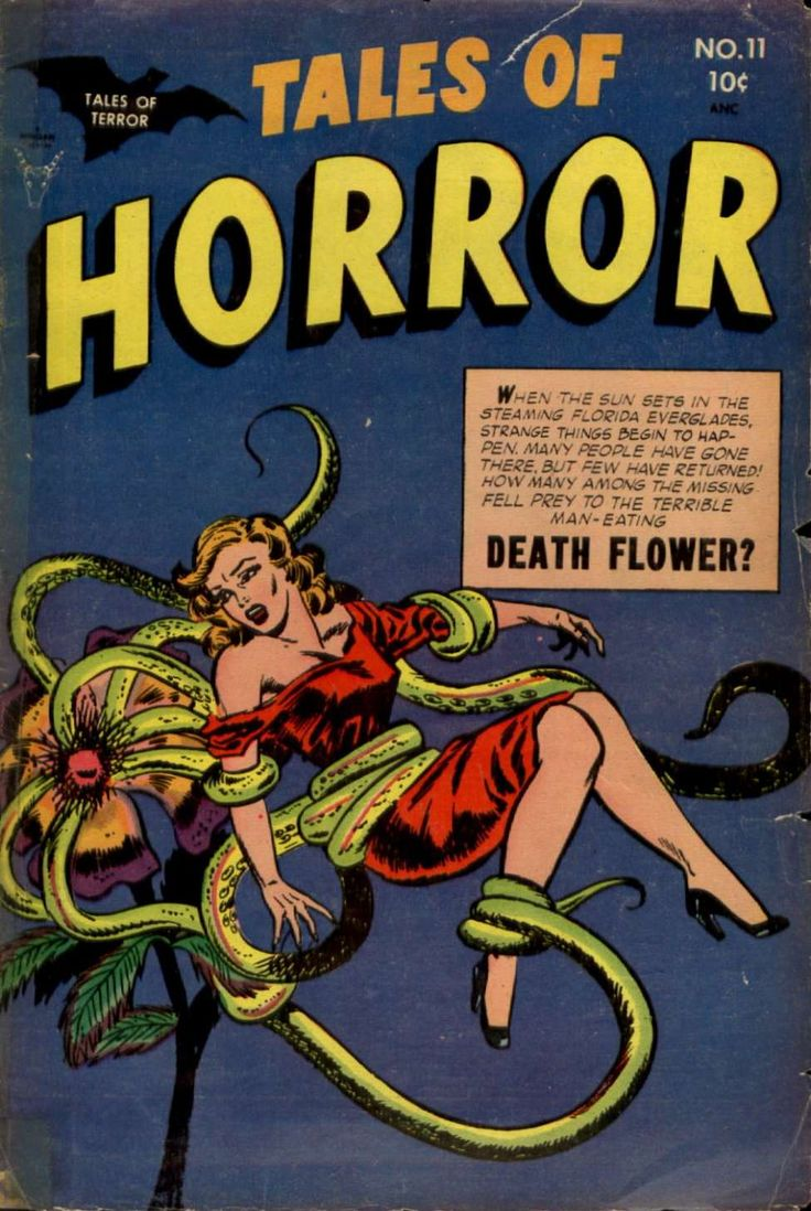 Comic Book Cover For Tales of Horror #11