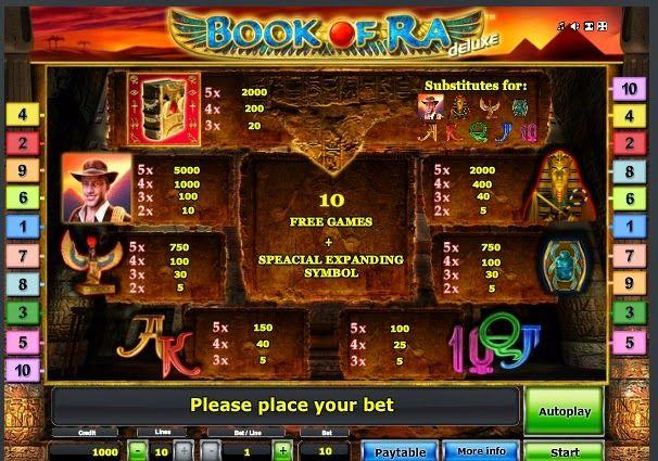 Best free online slots on Playslotscasinos.com: Book of Ra Deluxe http://playslotscasinos.com/book-of-ra-deluxe-online-slot.html